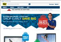 screenshot of Best Buy Early Holiday Sale